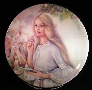 """The Love Letter"" plate by Wedgewood. Portraits of Love serie"