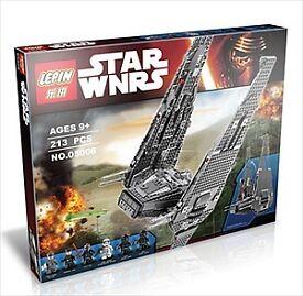 Lepin Star Wars Kylo Ren's Command Shuttle