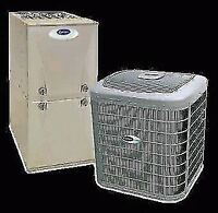 Air Conditioner and Furnace Install