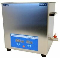 NEW 12L DIGITAL HEATED ULTRASONIC INDUSTRIAL PARTS CLEANER