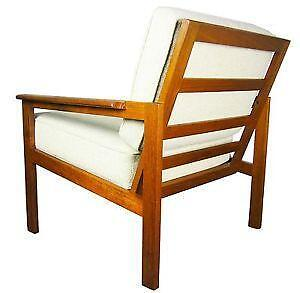 Modern Wooden Chairs mid century modern chair | ebay