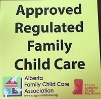 APPROVED KINCORA DAYHOME ACCEPTING REGISTRATIONS SUBSIDY AVAIL
