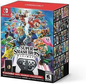 Selling super smash bros ultimate edition
