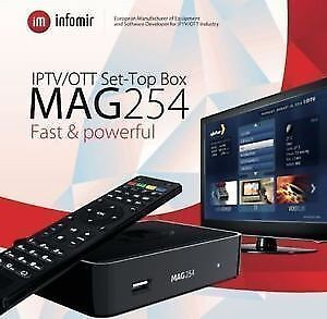 Mag 254 - The best iptv box in the market Stratford Kitchener Area image 1