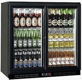 Double and Single bottle fridges avalaible