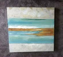 TWO Beachy Canvas Paintings Bateau Bay Wyong Area Preview