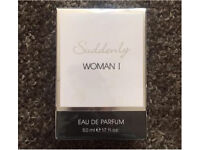 New & Sealed Suddenly Woman I Eau De Parfum 50ml
