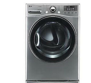 Like New!!! LG  Stackable Front Load Washer and Dryer Kit