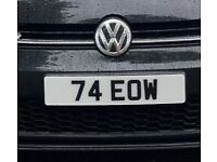 DATELESS NUMBERPLATE SHORT ON RETENTION PRIVATE PLATE NUMBER CHERISHED NOT BMW AUDI DAMAGED