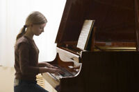PIANO LESSONS, in Our home studio, or your house- free trial