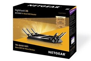 Netgear Nighthawk X6 Wireless AC3200 Tri-Band Router