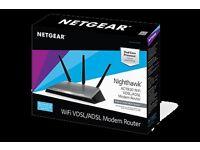 Netgear nighthawk D7000 wireless modem router