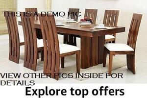 *NEW* NAME BRAND DINNING SETS (TABLE + 4 CHAIRS SET)