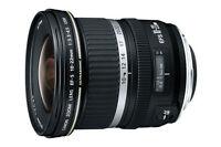 Canon EF-S 10-22mm USM Wide Angle Lens