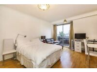 GREAT VALUE FOR MONEY STUDIO IN EARL'S COURT KENSINGTON HIGH STREET CHELSEA WITH BALCONY