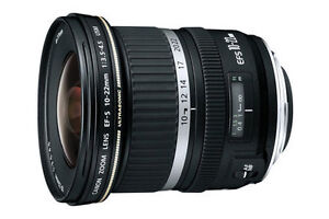Canon EF-S 10-22mm Zoom Wide Angle USM London Ontario image 1