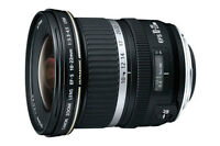 Canon EF-S 10-22mm f/3.5-4.5 USM Excellent Condition