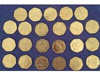 Rare/interesting 50p Coins