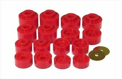 Mount Kit Explorer - Prothane Body Mount Bushing Kit 16pc 01-05 Ford Explorer Sport Trac 2WD (6-116)