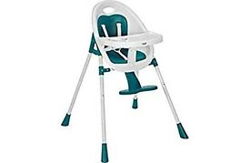 Mamas and Papas Teal 2-in-1 high chair