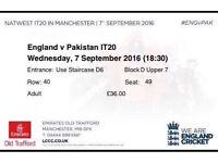 T20 7th September Tickets