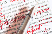 Proofreading and editing services for papers and essays