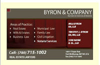 BYRON LAW - Real Estate Lawyers