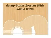 Group Guitar Lessons In Burridge With Jamie Irwin (near Whiteley, Park Gate, Fareham)