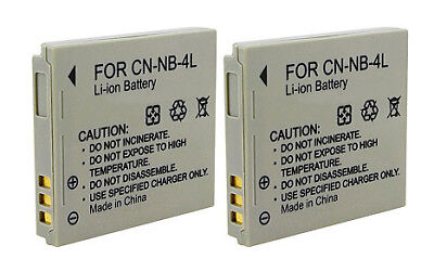 High Quality Generic Battery NB-4L 750mAh 3.7V Lithium Ion F