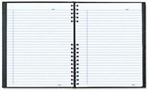 """BRAND NEW Blueline NotePro Notebook, 11"""" x 8.5"""", 300 pgs, Black"""