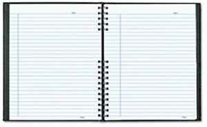 BRAND NEW Blueline NotePro Undated Daily Planner, 200 pgs, Black