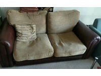FREE DELIVERY 2 Seater couch sofa bed