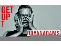 2 Tickets for Bryan Adams at The Ageas Bowl, Southampton.
