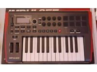 NOVATION IMPULSE 25 KEYBOARD . IMMACULATE CONDITION