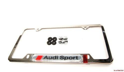 Audi A4 License Plate Frame | eBay