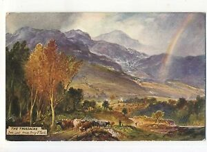 John Blair, The Trossachs, Ben Ledi from Brig O' Turk, Tuck 7707, A302
