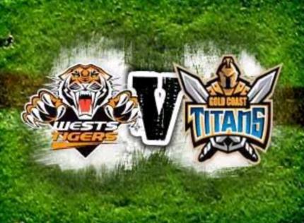 Titans vs Tigers tickets