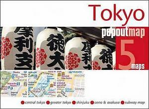Tokyo Popout Map by Compass Maps 2017 EDITION