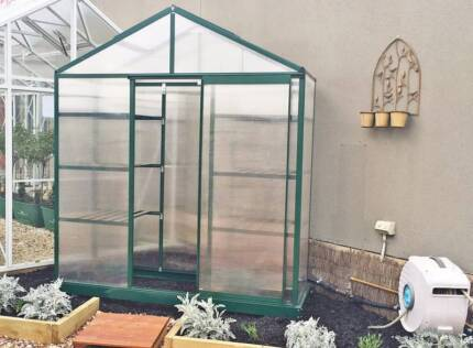 16M 4 Shelves Greenhouse Small Garden Shed Sheds Storage