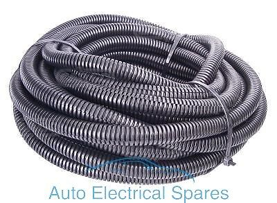 Split Convoluted Tubing Cable / Wire Protection 7mm Bore 10.4mm O/D x 1 meter