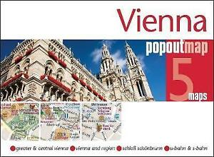 Vienna Popout Map by Compass Maps (Sheet map, folded, 2016)
