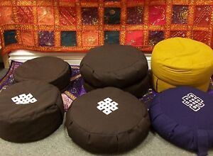 Meditation Cushion & Yoga Bag