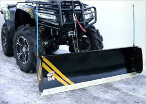 Q-LOCK snow plow and frames (QUADRAX)