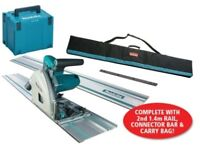 Makita SP6000K1 110v Plunge Saw with Guide Rail