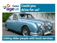 Volunteer Drivers Wanted! Age UK Exeter