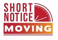 Easy Moving Solutions • Call 289-799-3604 • Short Notice Ok