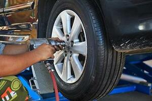 Seasonal Winter to Summer tire change/swap, Tire rotation service, for only $60