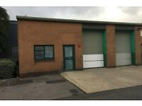 WAREHOUSE FOR RENT. 1020SQ FT ELECTRIC SHUTTERS. SUITABLE FOR MANY TRADES. COLNBROOK