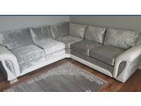 # FREE POUFFE NEW SCS corner sofa