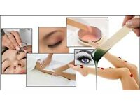 Waxing/ Henna / Cluster Eyelash /Threading/Tint/ Hair Cut & Colour//Bridal and party make up